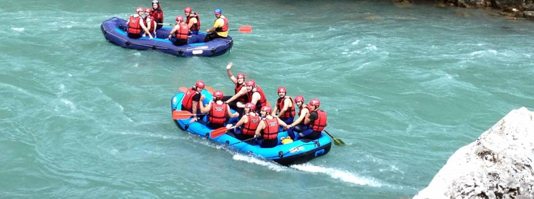 Rafting on the Tara and Drina rivers